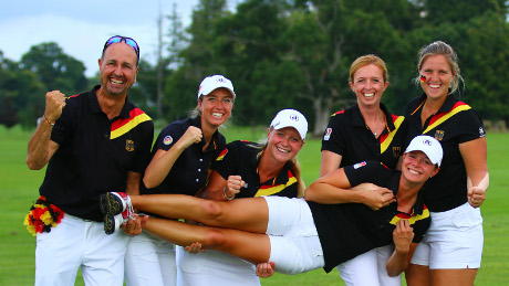 Golf Team Germany bei der Team-WM 2018