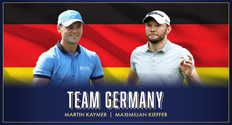 Tuniere: PGA of Germany beim World Cup of Golf