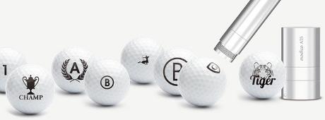 Golfballstempel Motivauswahl