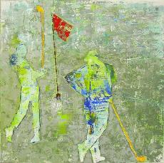 Golfgemaelde Ella Gengel