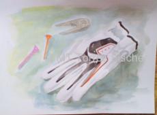 Golf  Kunst Maria Teresa Torres Fischer