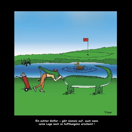 mit freund golfen