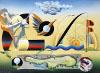 Golfbild Golfgemälde Wolfgang M Dehm