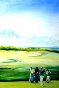 golf kunst golf künstler